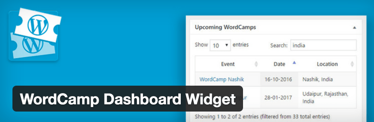 How to View Upcoming WordCamps in the WordPress Dashboard