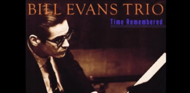 Bill Evans Album Cover from Time Remembered