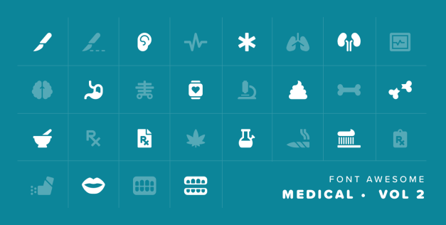 medical Font Awesome 5.2 Adds 372 New Icons, Introduces Automotive and Education Categories design tips