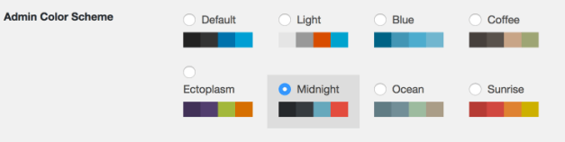 AdminColorSchemes Dark Mode is Possibly Coming to a WordPress Dashboard Near You design tips