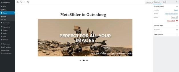 metaslider-in-gutenberg MetaSlider Plugin Adds Gutenberg Block for Inserting Sliders design tips