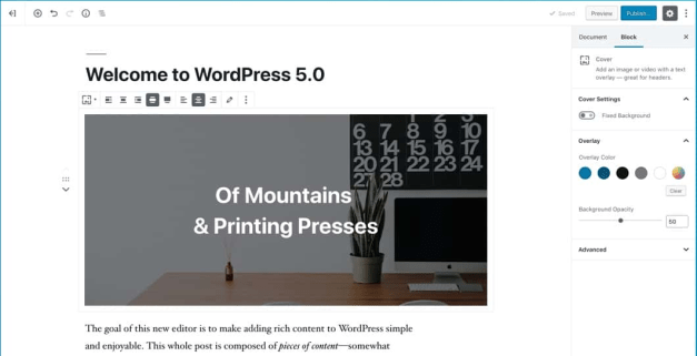 """firefox_2018-12-06_13-14-26 WordPress 5.0 """"Bebo"""" Released, Lays A Foundation for the Platform's Future design tips"""