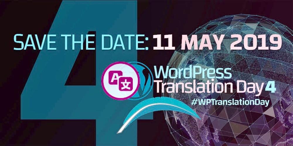 Global WordPress Translation Day Set for May 11, 2019