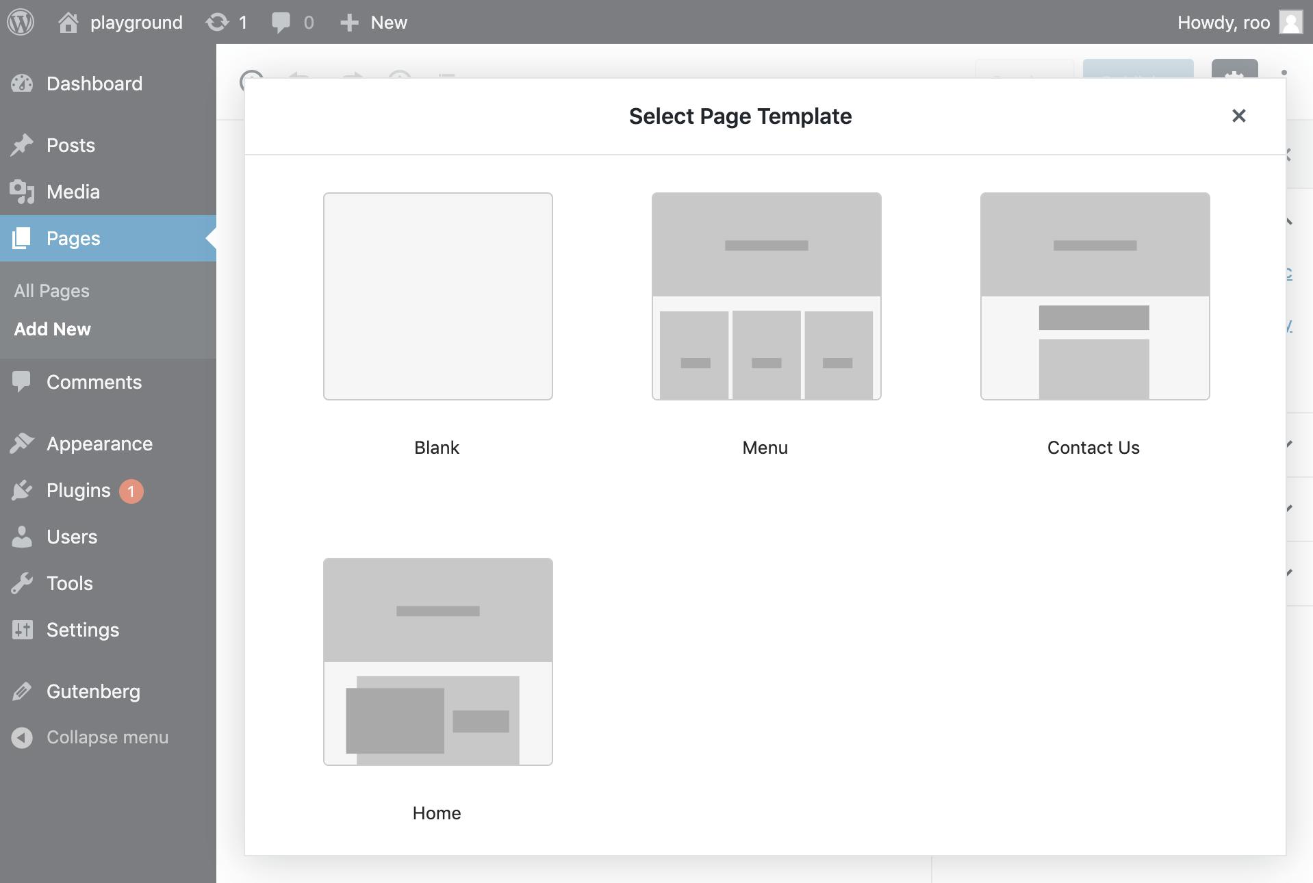 Full Site Editing Plugin