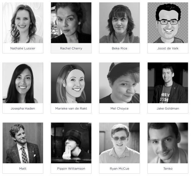 Publish Online presenters