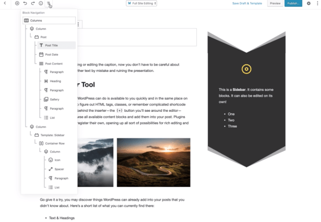 , Gutenberg Team Explores the Future of Full-Site Editing with New Prototype
