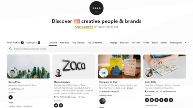 dsko-home Jason Schuller Launches DSKO, a Discovery Network for Creators and Brands design tips  News