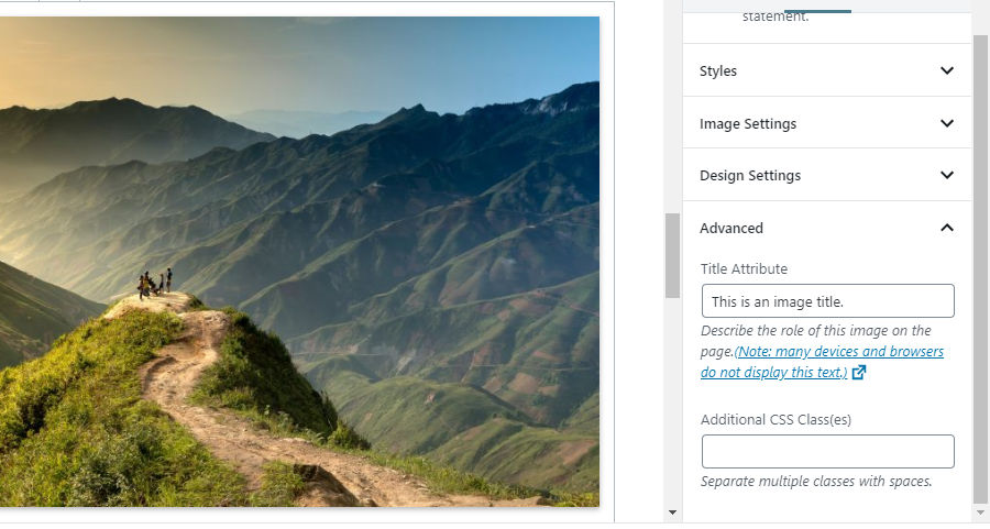 Gutenberg 6.9 Introduces Image Titles, Block Patterns, and New Theme Features