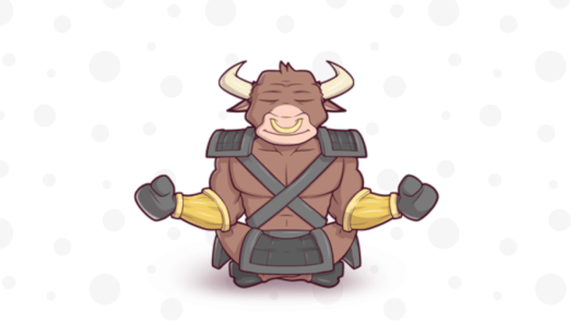 Decorative logo image featuring a bull for the Zero BS CRM plugin