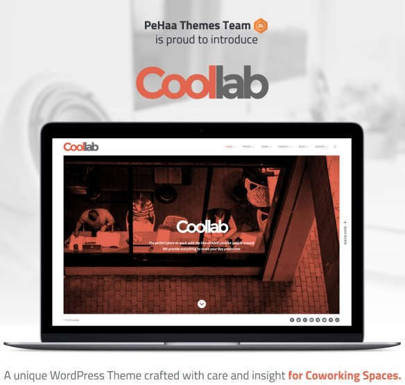PeHaa Themes is proud to introduce Coollab.