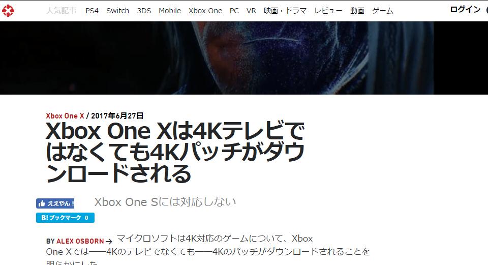 ignはxbox one xのスーパーサンプリング機能を知らない wpteq