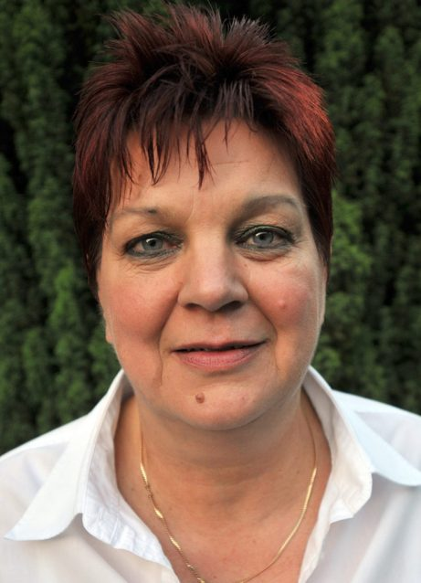 Schriftführerin Brigitte Hox