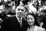 20th Anniversary Benefit 1998_Frank Langella and Tina Chen-1
