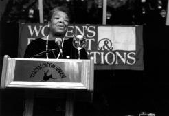 20th Anniversary Benefit 1998_Maya Angelou-1