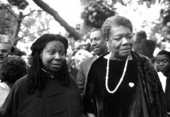 20th Anniversary Benefit 1998_Whoopi Goldberg and Maya Angelou-1