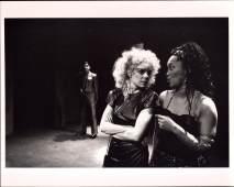 Carmine Iannaccone, Deirdre O'Connell, and Sheila Dabney in ETTA JENKS (1987-88)