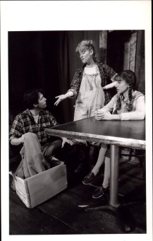 Cotter Smith, Kristin Jolliff and Sarah Jessica Parker in THE DEATH OF A MINER (1982)