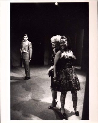 Deirdre O'Connell, Carmine Iannaccone, and Sheila Dabney in ETTA JENKS (1987-88)
