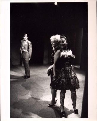 Deirdre O'Connell, Carmine Iannaccone, and Sheila Dabney in ETTA JENKS (1987-88)