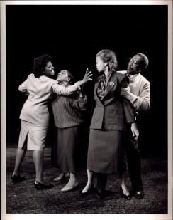 Herb Lovelle, Lizan Mitchell, LaTanya Richardson Jackson & Pawnee Sills in MA ROSE (1988-89)
