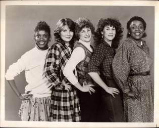 L to R. Charlaine Woodard, Mary Gordon Murray Roo Brown, Randy Graff and Alaina Reed in A... MY NAME IS ALICE