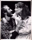Michael Gross and Robin Groves in TERRITORIAL RITES