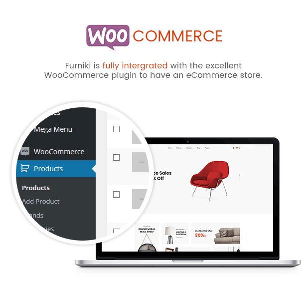 Furniki - WordPress theme for furniture and interior design