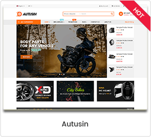 Autusin - Auto Parts & Car Accessories Shop WordPress Theme WooCommerce