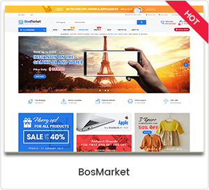 BosMarket - Flexible multi-vendor WordPress theme
