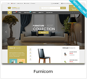 Furnicom - Furniture Store & Interior Design WordPress WooCommerce Theme