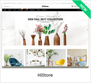 HiStore - Multipurpose eCommerce & MarketPlace WordPress Theme