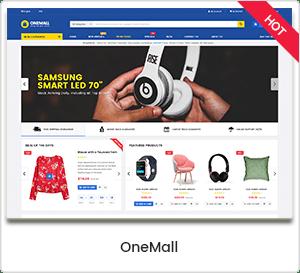OneMall - Multipurpose eCommerce & MarketPlace WordPress Theme