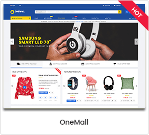 OneMall - WordPress theme for multipurpose eCommerce and MarketPlace