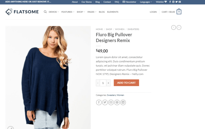 wordpress flatsome theme