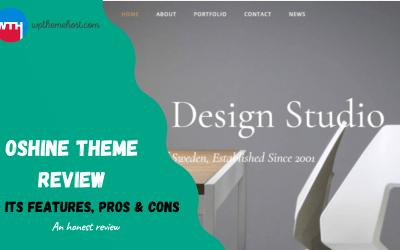 Oshine Theme Review