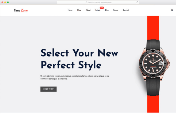 html ecommerce template free