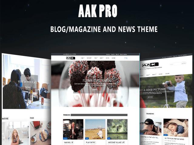 Aak Pro WordPress Theme