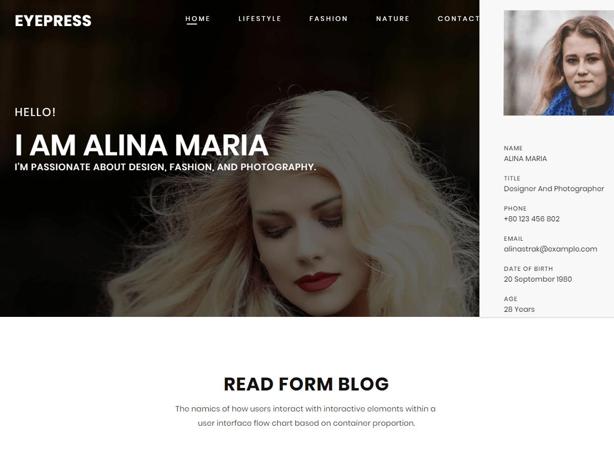 EyePress WordPress Theme