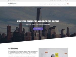 Krystal Business By Spiracle Themes