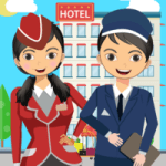 Pretend Play Hotel Cleaning Doll House Fun 1.1.5 APK