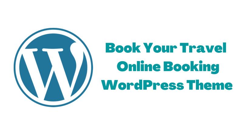 Online Booking WordPress Theme