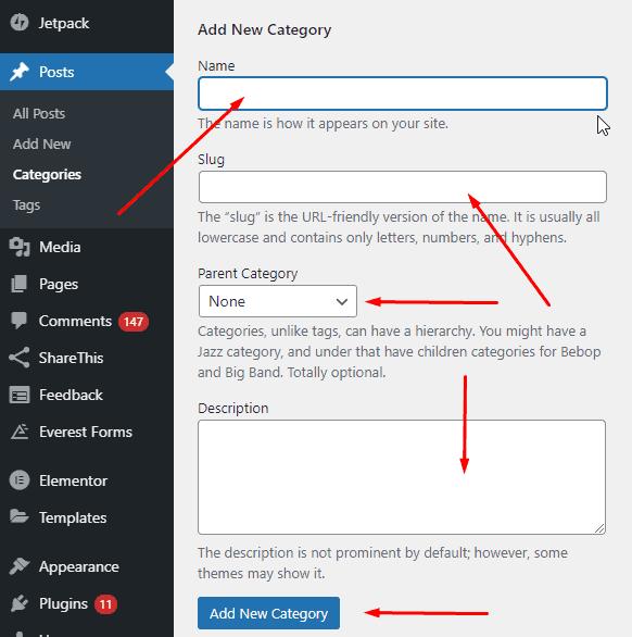 Category Descriptions in WordPress