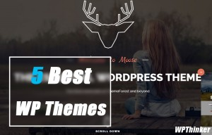 5 Best Designed WordPress Themes and Templates