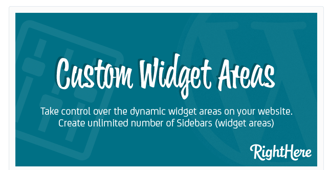 Custom Widget Areas WordPress Plugin