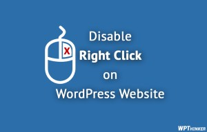 How to Disable Right Click on WordPress Website