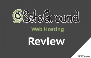 Siteground WebHosting Review