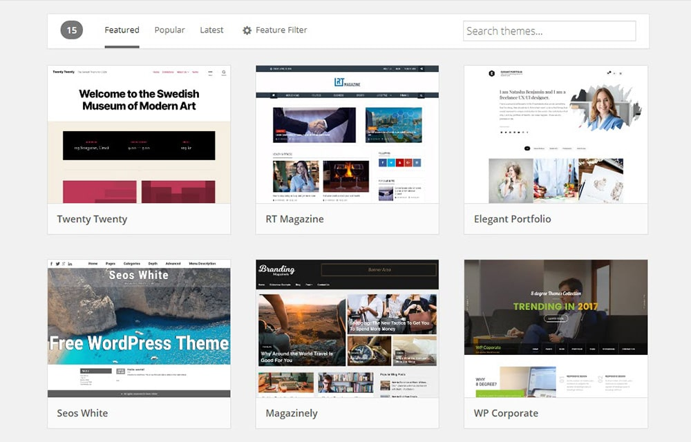 Change WordPress Theme from Database
