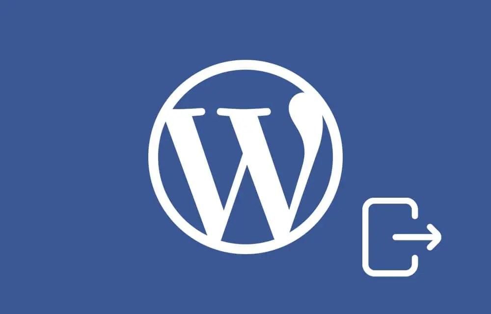 WordPress Keeps Logging Out