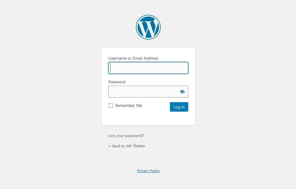 WordPress Login Page Not Redirecting