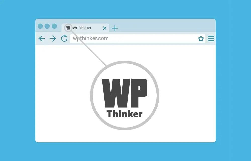 Change Favicon in WordPress